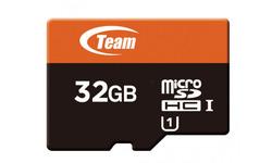 Team MicroSDHC UHS-I 32GB + Adapter