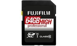 Fujifilm High Performance SDXC UHS-I 64GB