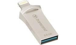 Transcend JetDrive Go 500 64GB Silver