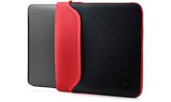 """HP 14"""" Neoprene Sleeve Black/Red"""