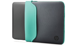"HP 11.6"" Grey/Green Chroma Sleeve"