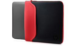 "HP 11.6"" Neoprene Sleeve Black/Red"