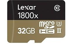 Lexar Professional MicroSDHC UHS-II U3 1800x 32GB