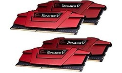 G.Skill Ripjaws V 32GB DDR4-3466 CL16 quad kit
