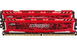 Crucial Ballistix Sport LT Red 16GB DDR4-2400 CL16 kit