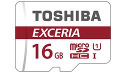 Toshiba Exceria MicroSDHC Red UHS-I 16GB