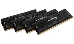 Kingston HyperX Predator 64GB DDR4-3000 CL15 quad kit