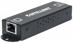 Intellinet 1-Port Gigabit High-Power PoE+ Extender Repeater 25W