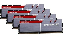 G.Skill Trident Z Silver/Red 32GB DDR4-3333 CL16-18-18-38 quad kit