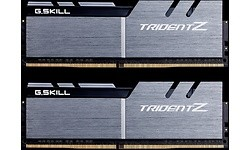 G.Skill Trident Z 32GB DDR4-3200 CL14 Silver/Black quad kit
