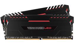 Corsair Vengeance Black/Red LED 32GB DDR4-2666 CL16 kit