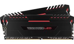 Corsair Vengeance Black-Red LED 16GB DDR4-3000 CL15 kit