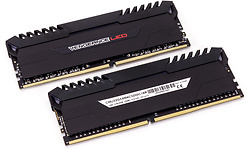 Corsair Vengeance Black/Red LED 16GB DDR4-3200 CL16 kit