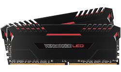 Corsair Vengeance Black/Red LED 32GB DDR4-3200 CL16 kit