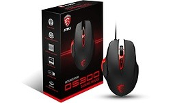 MSI Interceptor DS300 Gaming Mouse Black/Red