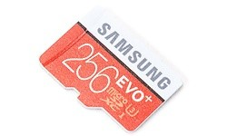 Samsung Evo+ MicroSDXC UHS-I 256GB + Adapter