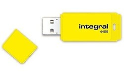 Integral Neon 64GB Yellow