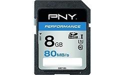 PNY Performance SDHC UHS-I 8GB