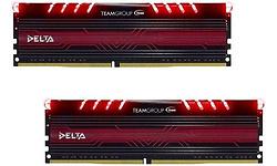 Team Delta Red 16GB DDR4-2400 CL15 kit