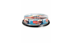 Philips DVD+R 8x 10pk Spindle
