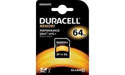 Duracell Performance SDXC UHS-I 64GB