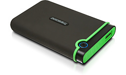 Transcend StoreJet 25MC 1TB Black/Green