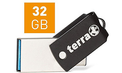 Terra Computer USThree A+C USB3.1 32GB Black