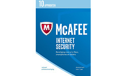McAfee Internet Security 2016 Unlimited Devices 1-year (NL)