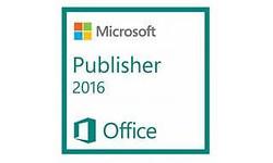 Microsoft Publisher 2016 1-user (NL)