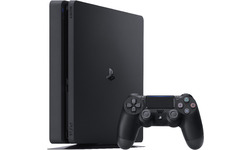 Sony PlayStation 4 Slim Black 500GB + DualShock 4 Controller
