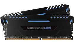 Corsair Vengeance Black/Blue LED 16GB DDR4-3000 CL16 kit