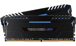 Corsair Vengeance Black/Blue LED 32GB DDR4-3000 CL15 kit