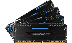 Corsair Vengeance LED Blue 32GB DDR4-3000 CL15 quad kit
