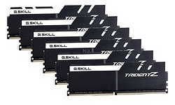 G.Skill Trident Z Black/White 64GB DDR4-3200 CL16 octo kit