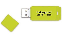 Integral Neon 32GB Yellow (USB 3.0)