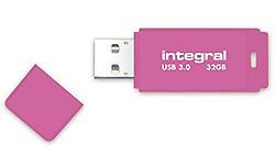 Integral Neon 32GB Pink