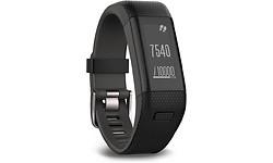 Garmin Vivosmart HR+GPS Activity Tracker Regular Black