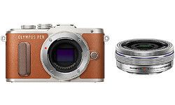 Olympus Pen E-PL8 14-42 kit Silver/Brown