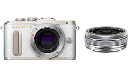 Olympus Pen E-PL8 14-42 kit Pancake White