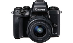 Canon Eos M5 15-45 kit Black