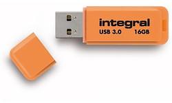 Integral Neon 16GB Orange (USB 3.0)