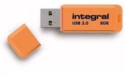Integral Neon 8GB Orange (USB 3.0)