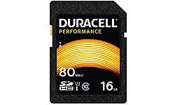 Duracell Performance SDHC UHS-I 16GB