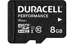 Duracell MicroSDHC UHS-I 8GB + Adapter