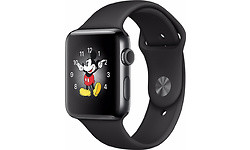 Apple Watch Series 2 42mm Space Black Sport Band Black
