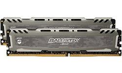 Crucial Ballistix Sport LT Grey 16GB DDR4-2400 CL16 kit (BLS2C8G4D240FSBK)