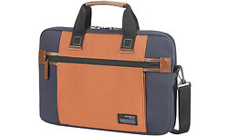 "Samsonite Sideways Laptop Sleeve 15.6"" Blue/Orange"