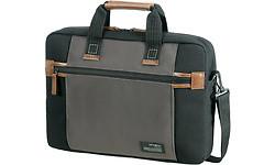 "Samsonite Sideways Laptop Bag 15.6"" Black/Grey"