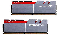 G.Skill Trident Z Silver/Red 32GB DDR4-3400 CL16 quad kit