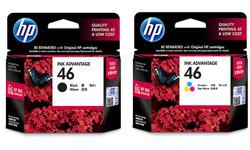 HP 46 Black + Color